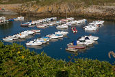Small port with boats in Brittany — Stock Photo
