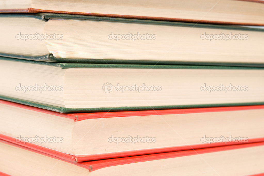 Stack of books as background  Stock Photo #1809004