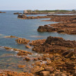 Coastline in Brittany, northen france — Stock Photo