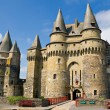 Medieval castle in Vitre — Stock Photo #1819815