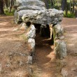 Stock Photo: Dolmen. Megalithic tomb in Brittany