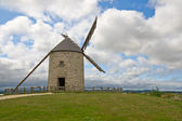 Old windmill in Brittany, France — Stock Photo