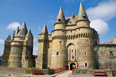 Medieval castle in Vitre — Stock Photo