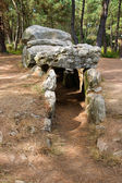 Dolmen. Megalithic tomb in Brittany — Stock Photo
