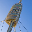 Foster tower in Tibidabo, Barcelona - Stock Photo