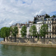 Paris river Seine - Stock Photo