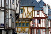 Vannes, timbered houses in Brittany — Stock Photo