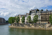 Paris river Seine — Stock Photo