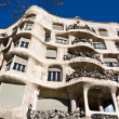 La Pedrera, Casa Mila in Barcelona - Stock Photo
