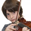 Royalty-Free Stock Photo: Boy playing violin