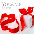 Stylized valentine hearts - Foto Stock