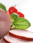 Fresh cold meat — Stock Photo