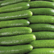 Stock Photo: Fresh cucumbers