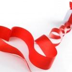 Stylized valentine heart — Stock Photo