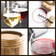 White and red wine — Stock Photo #1983764
