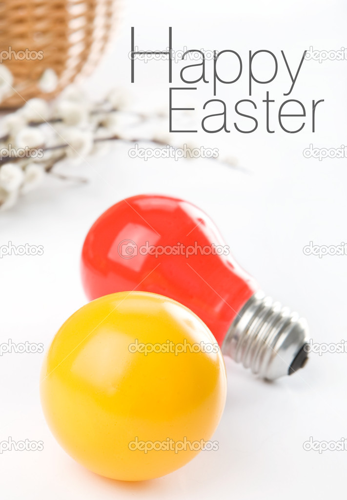 Easter greetings — Stock Photo #1983122