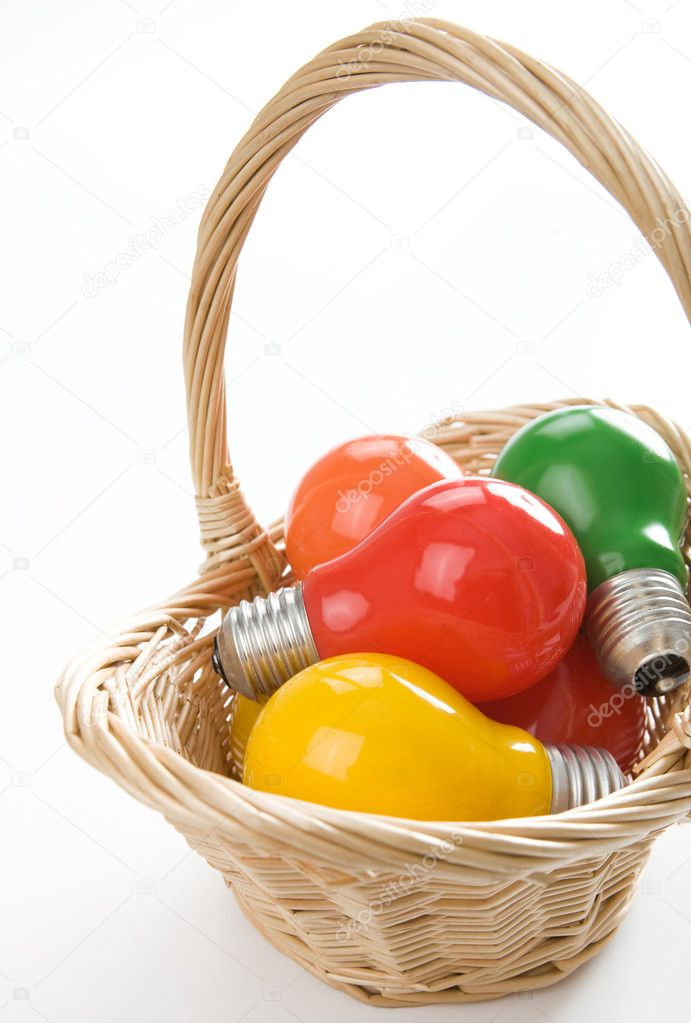 Easter bulbs-eggs  Stock Photo #1983381