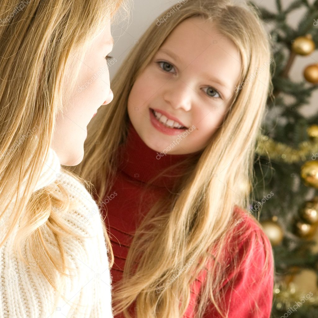Beautiful Young Girls Stock Photo Worytko Pawel 1984473