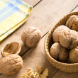 Fresh walnuts - Foto Stock