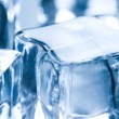 Close up on ice cube — Stock Photo