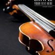 Stock Photo: Close-up on violin. Space for text isola