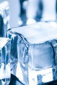 Zblízka na kostku ledu — Stock fotografie
