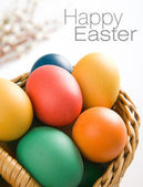 Big easter eggs — Stock Photo