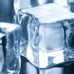 Close up on ice cube — Stock Photo