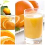 Orange collage — Stock Photo