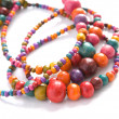 Foto de Stock  : Colored beads