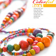 Colorful beads - Foto de Stock