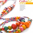 Foto de Stock  : Colorful beads