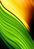 Green and orange background — Stock Photo