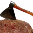 A meat cleaver - Stock Photo