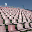 Empty pink seats — Stock Photo