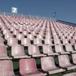 Empty pink seats — Stock Photo