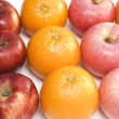 Apples and oranges — Stock Photo #1787801