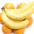 Bananas and oranges — Stock Photo #1787897