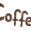 Coffee inscription — Photo