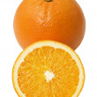 Stock Photo: Fresh orange