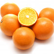 Fresh oranges — Stock Photo #1788528