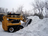Snow removal operation� — Stock Photo
