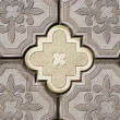 Ornate pavement — Stock Photo