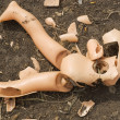 Broken doll — Stock Photo