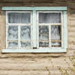 Cottage window — Stock Photo