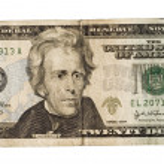 Twenty dollar — Stock Photo