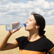 drinking water — Stock Photo