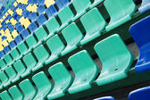 Colored seats — Stock Photo