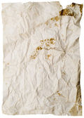 Old wrinkled paper — Stock Photo