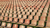 Pink seats — Stock Photo